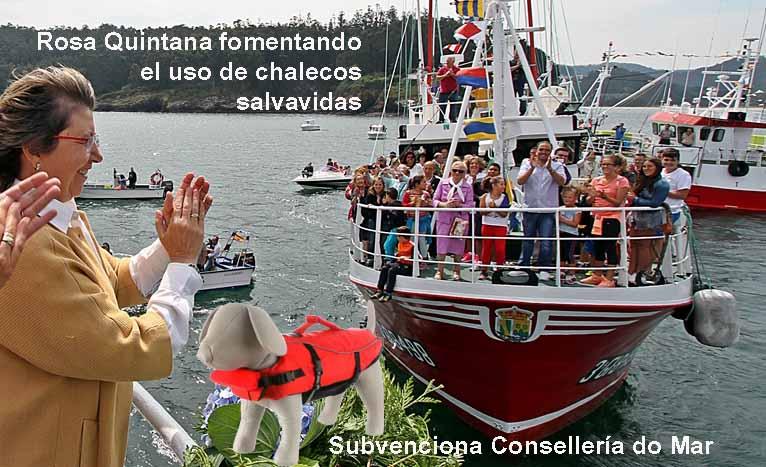 RosaCedeira3 conselleriadomar chalecossalvavidas