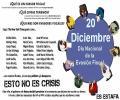 Pladesemapesga propone crear listas abiertas el 20 de Diciembre junto al día del